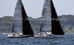 J/88s dueling at J/Fest New Englands