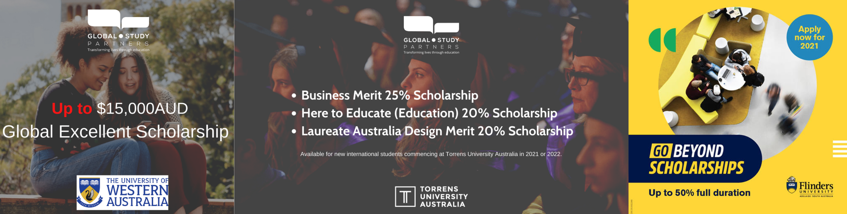 Cập nhật học bổng Úc lên đến 50% từ Đại học Flinders
