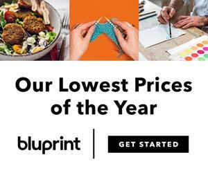 Bluprint Subscriptions Now $7.99 monthly or $79.99 annual!   (through 12/31)