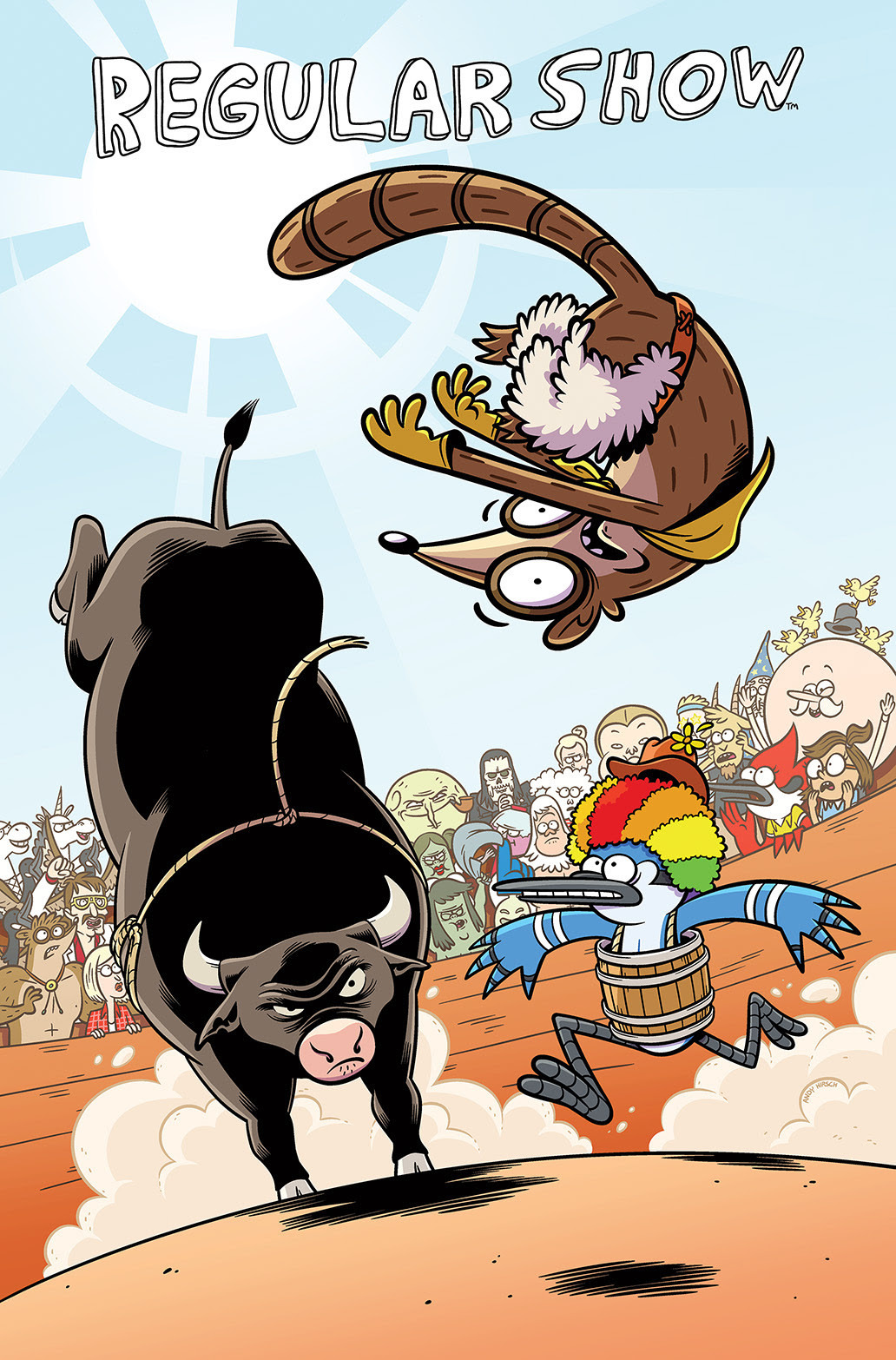 REGULAR SHOW #15 Cover A by Andy Hirsch
