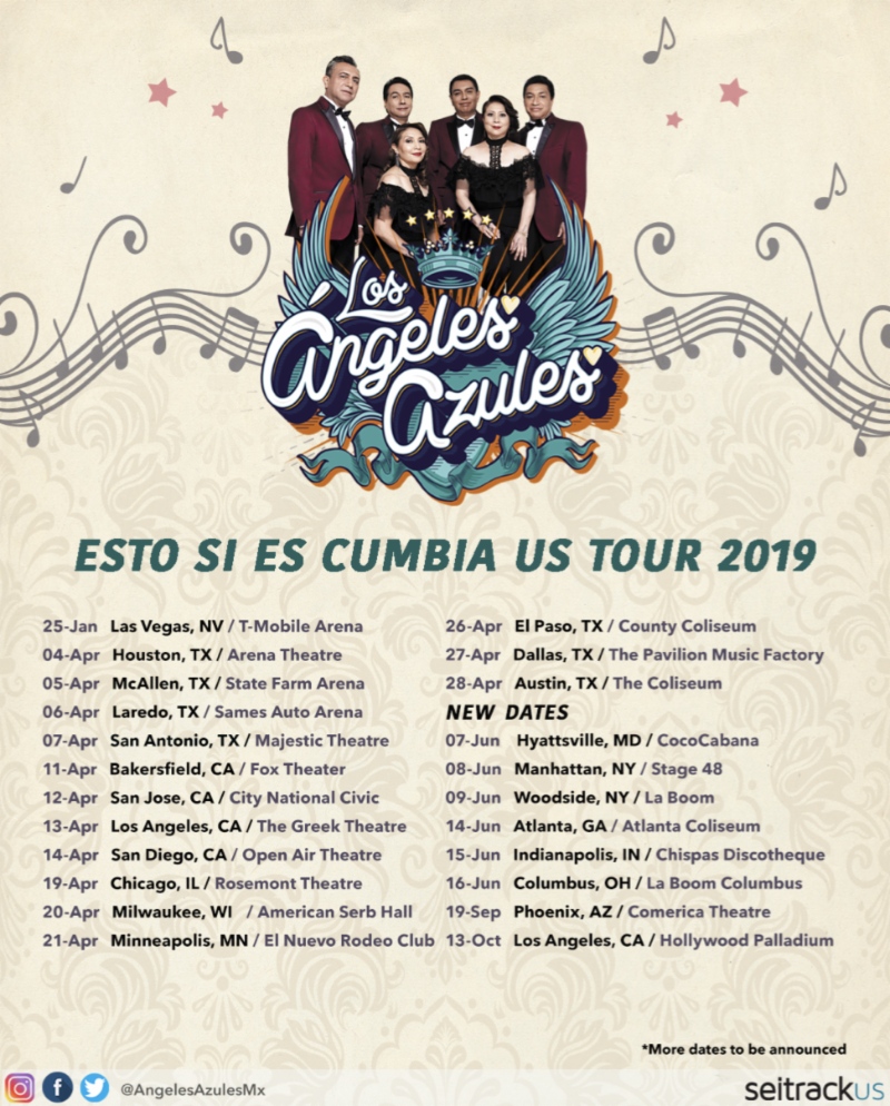 Los Angeles Azules Returns To The Us With An Extended Tour Seitrack Us