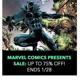 Marvel Comics Presents Sale: up to 75% off! Sale ends 1/28.