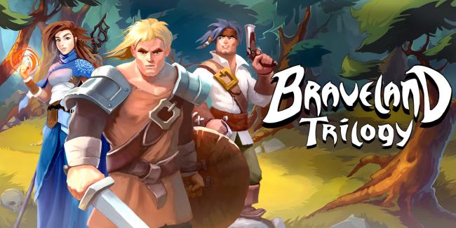 Braveland Trilogy Key Art Image