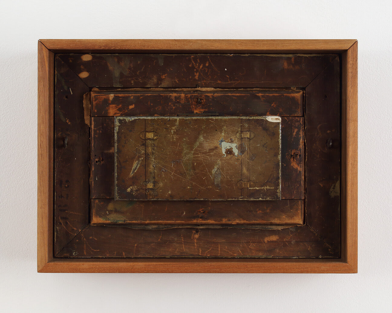 Duchamp's Valise, 1990, mixed media construction, 11 1/4 x 15 1/4 x 4 1/2 inches