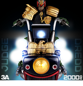 JUDGE DREDD AND LAWMASTER