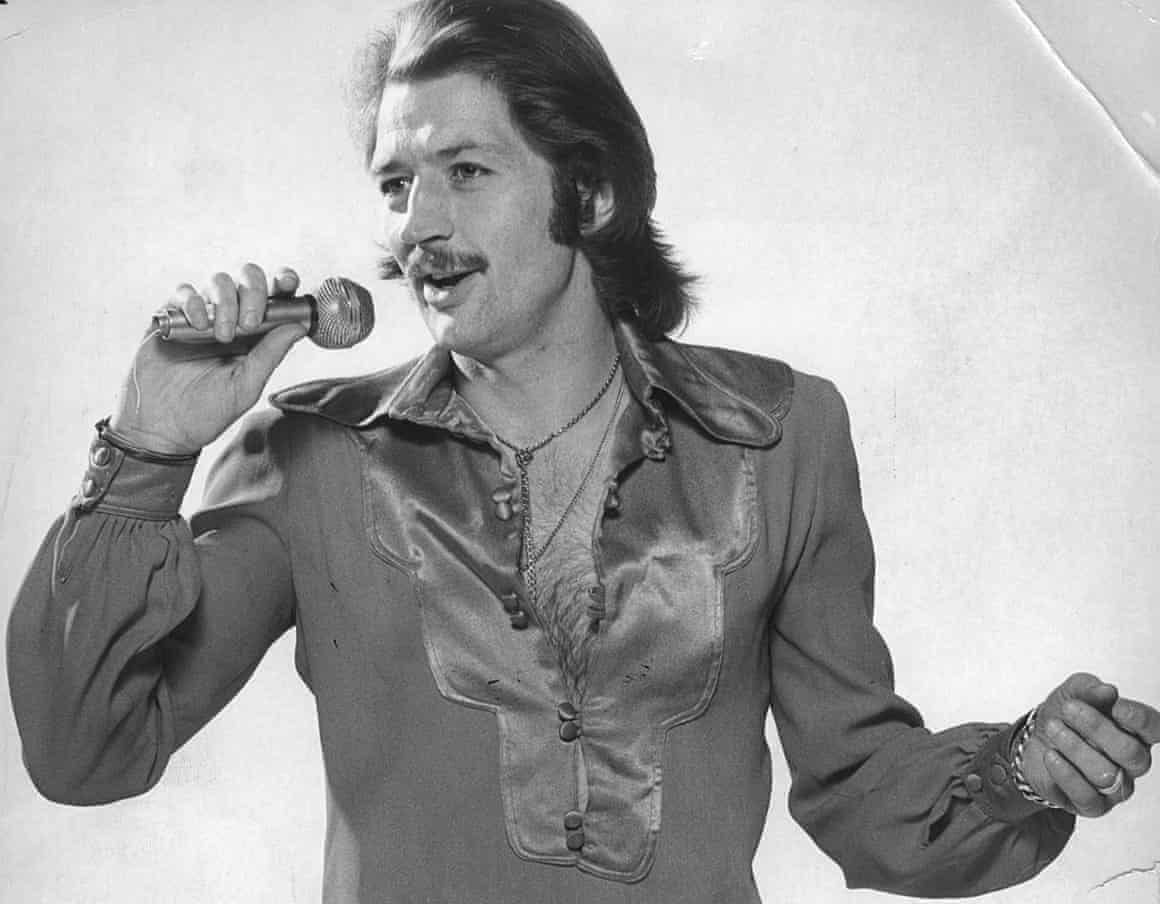Frank Worthington in full Elvis garb.