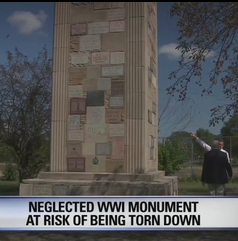 Michigan monument in danger