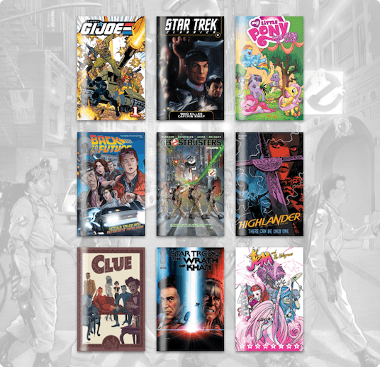 Humble Comics Bundle: Back to the '80s by IDW