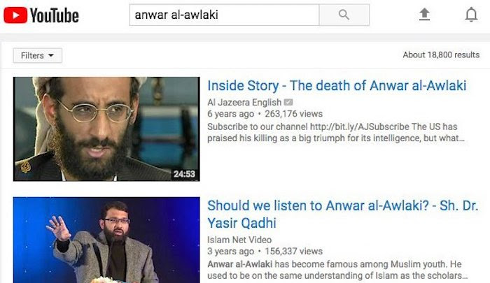 YouTube finally removes jihad terror mastermind Anwar al-Awlaki's videos