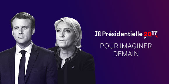 Macron et Le Pen au second tour