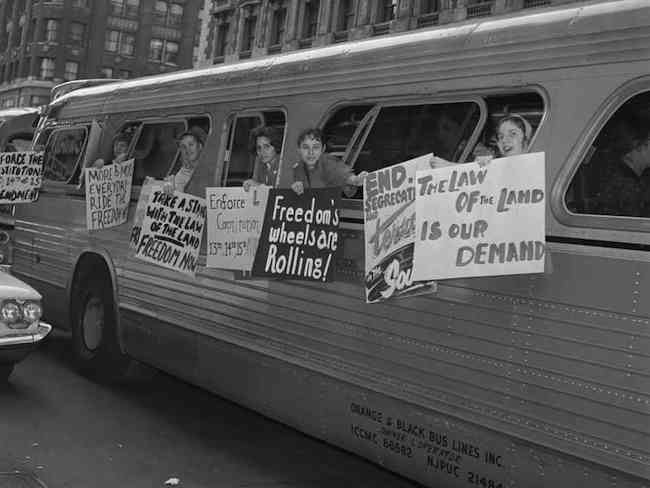 civil rights bus