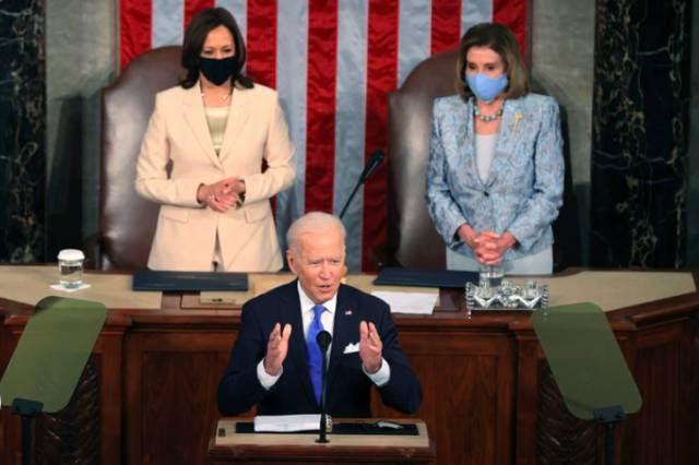 """Joe Biden: """"Os Estados Unidos voltaram a liderar o mundo"""""""