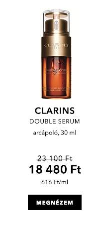 Májusi Douglas ajánlatok - CLARINS Double Serum - Arcápolás