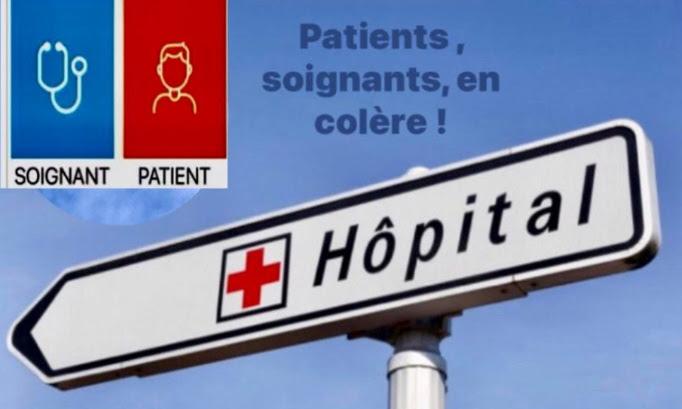 Hôpital public en danger !  Améliorer conditions de travail des soignants