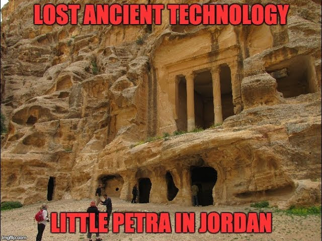Lost Ancient High Technology: Little Petra In Jordan  Sddefault