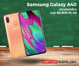 Iskolakezdési ajánlatok - Samsung Galaxy A40