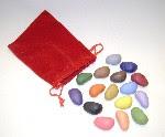 16 crayon rocks