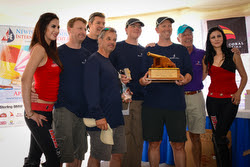 J/88 Blue Flash team- winners