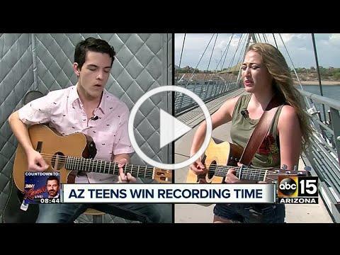 Arizona teens win recording session