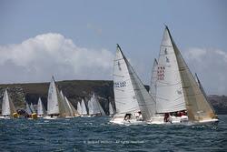 J/80s sailing GPEN in Camaret, France