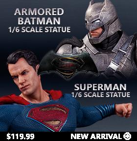 1/6 SCALE BATMAN V SUPERMAN STATUES