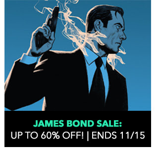 James Bond Sale: up to 60% off! Sale ends 11/15.
