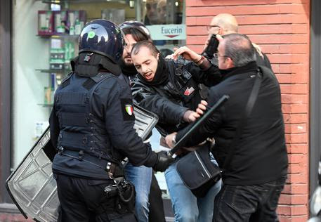 Salvini a Napoli © ANSA