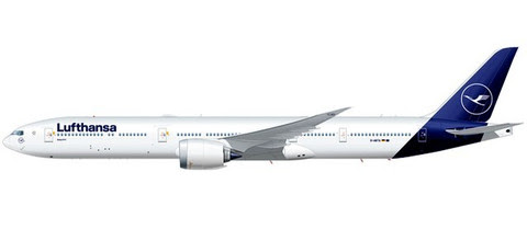 Herpa Snap-Fit (Wooster) 1:250 | Boeing 777-9 Lufthansa | Is due: January / February 2020