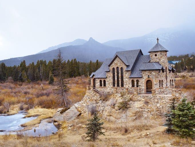 Chapel on the Rock near Estes Park, Colo.,