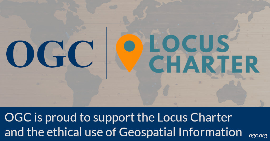OGC supports the locus charter