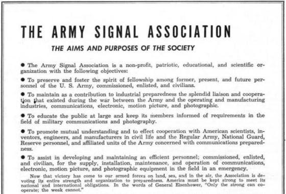 army signal 1