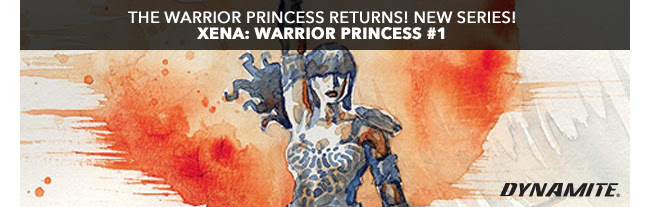 The warrior princess returns! New Series! Xena: Warrior Princess #1