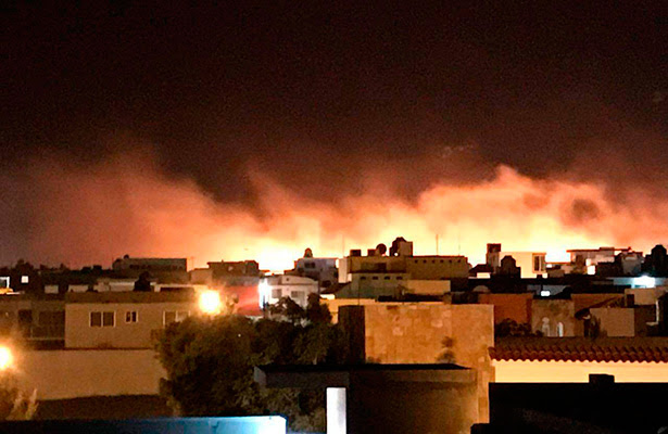 Resultado de imagen para incendio lomas residencial