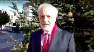 Ο Δημήτρης Σαραβάκος μας στέλνει τις ευχές του για τις εορτές