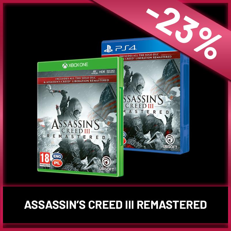 Nyárindító Black Friday - Assassin s Creed III Remastered