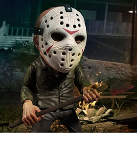 FRIDAY THE 13TH DELUXE STYLIZED JASON