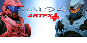 NEW HALO 4 ARTFX STATUES