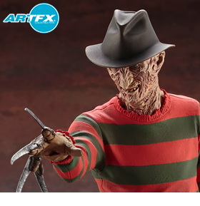 NIGHTMARE ON ELM STREET ARTFX FREDDY KRUEGER STATUE