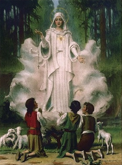 Our Lady of Fatima and the Three Children