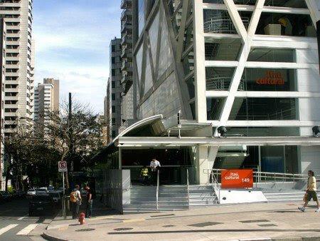 A sede do Itaú Cultural, na Avenida Paulista, é acessível para pessoas com deficiência física, visual, auditiva e intelectual. Foto divulgação