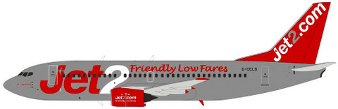 Boeing 737-300 Jet 2 G-CELS | is due: August 2019