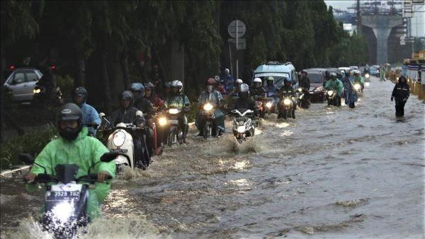 Yakarta Indonesia se hunde rapidamente. Foto Eko Siswono Toyudho - Agencia Anadolu.