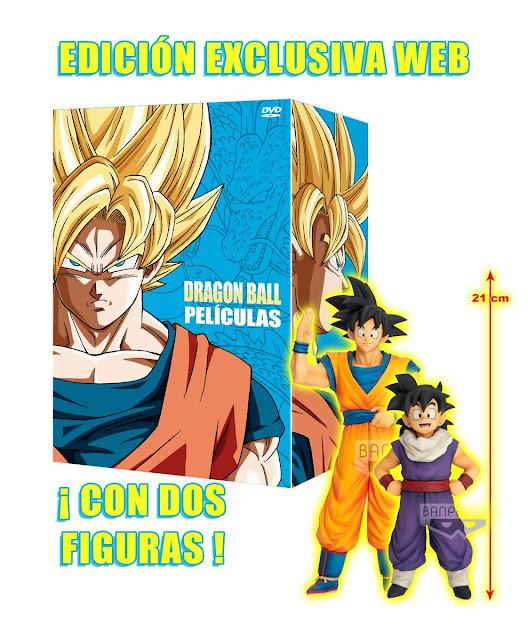 DRAGON BALL PACK CON TODAS LAS PELÍCULAS