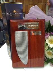 Silver rudder challenge trophy
