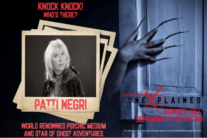 Festival of the Unexplained featuring Patti Negri