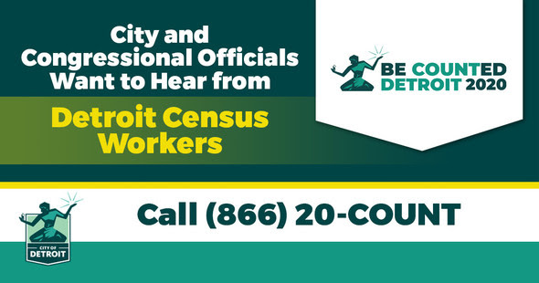 City Wants to Talk with Census Workers