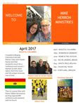 Mike Herron Ministries Newsletter 2017