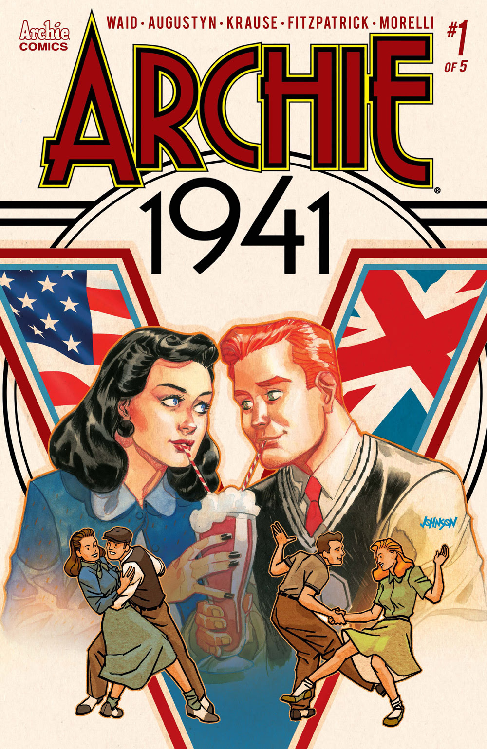 Archie 1941 #1: CVR D Johnson