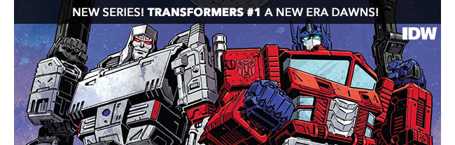 New Series! Transformers #1 A New Era Dawns!