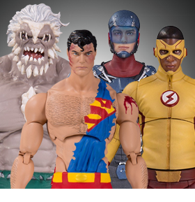 DC COLLECTIBLES - THE FLASH, SUPERMAN, BATMAN & MORE